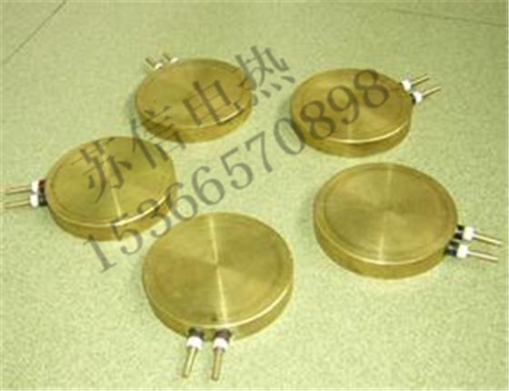 圆形铸铜加热板
