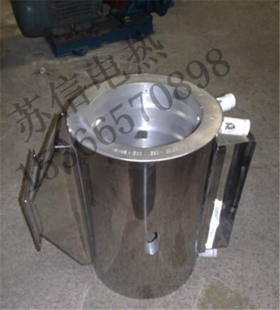 风机出口铸铝加热圈